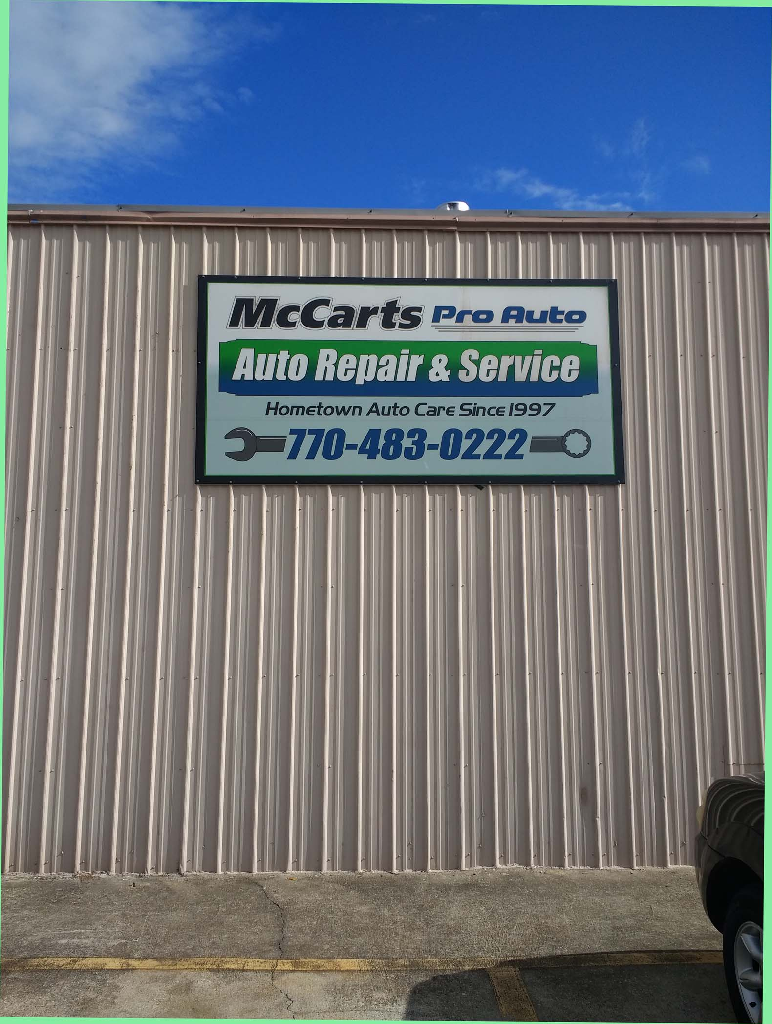 McCART'S PRO-AUTO INC.