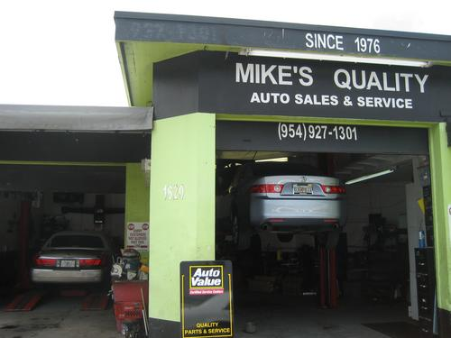 Mikes Quality Automotive storefront. Your local Bennett Auto Supply, Inc. in Hollywood, FL.