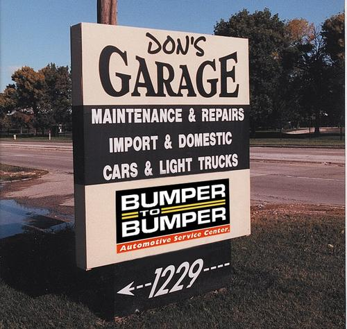 Don's Garage storefront - Your local Auto Parts store in Arlington Heights, ILLINOIS (IL)