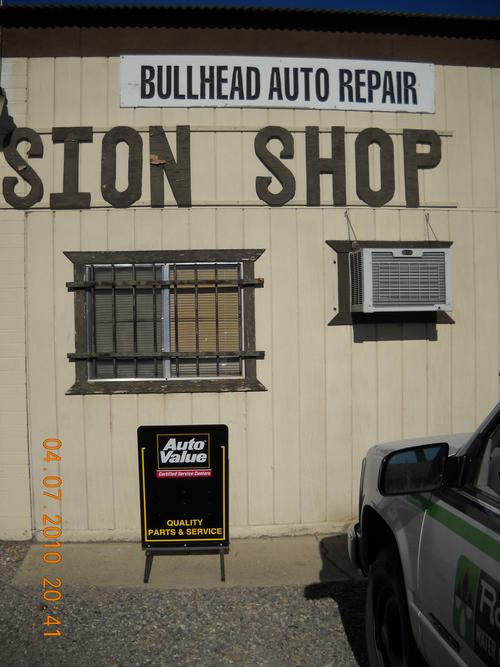 Bullhead Auto Repair storefront. Your local Star Distributing Company in Bullhead City, AZ.