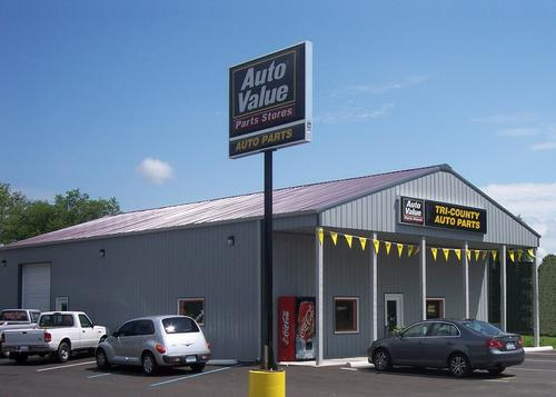 Tri-County Auto Parts storefront. Your local Hahn Automotive Warehouse in Edinburgh, IN.