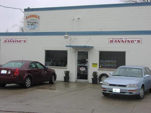 BANNING'S MUFFLERS & BRAKES storefront - Your local Auto Parts store in Decatur, ILLINOIS (IL)