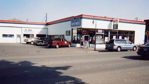 Baxter Auto Parts #15 storefront. Your local Performance Warehouse in Port Angeles, WA.