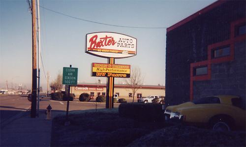 Baxter Auto Parts #19 storefront. Your local Performance Warehouse in Medford, OR.