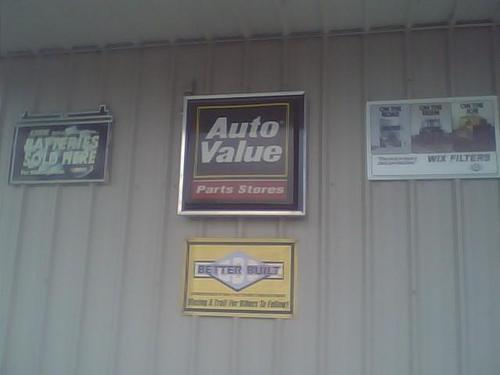 Baxter Auto Parts #32 storefront. Your local Performance Warehouse in Susanville, CA.