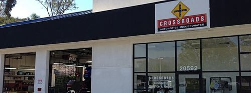 Crossroads Automotive storefront. Your local Warren Distributing, Inc in Lake Forrest, CA.