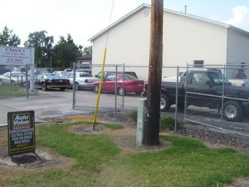 Chuck's Car Care storefront. Your local Al's Automotive in Granite City, IL.