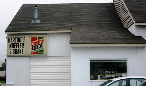 Martinos Auto Center storefront - Your local Auto Parts store in Doylestown, PENNSYLVANIA (PA)