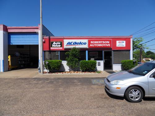ROBERTSON AUTOMOTIVE storefront. Your local ABC Auto Parts, Ltd. in Tyler, TX.