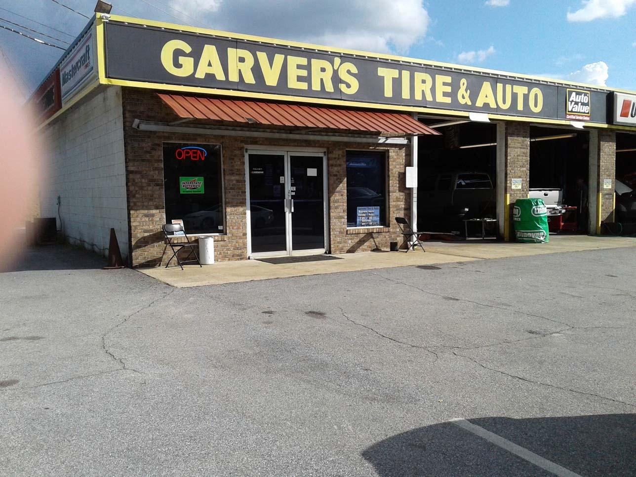 GARVER'S TIRE & AUTO