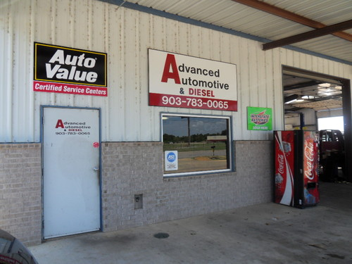 ADVANCED AUTO AND DIESEL/PARIS storefront. Your local ABC Auto Parts, Ltd. in Paris, TX.