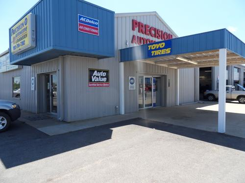 PRECISION AUTOMOTIVE-PARIS storefront. Your local ABC Auto Parts, Ltd. in Paris, TX.