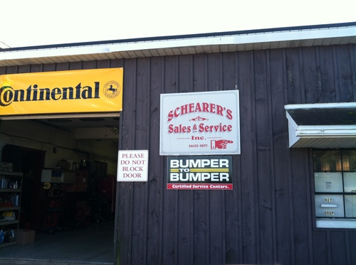 Schearers Sales & Service storefront - Your local Auto Parts store in Wescosville, PENNSYLVANIA (PA)
