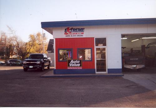 Extreme Auto & Gas LLC storefront. Your local AutoParts HeadQuarters, Inc in Glenwood, MN.