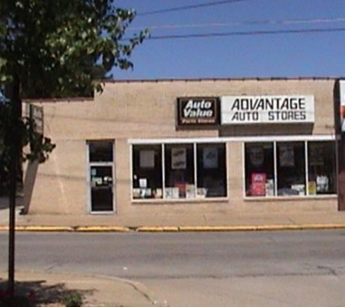 Advantage Auto Stores storefront. Your local Hahn Automotive Warehouse in Greenville, PA.