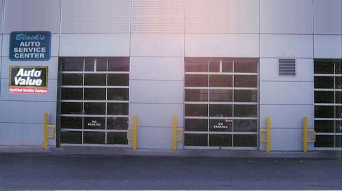 Black's Auto Service Center storefront. Your local Hahn Automotive Warehouse in Corning, NY.