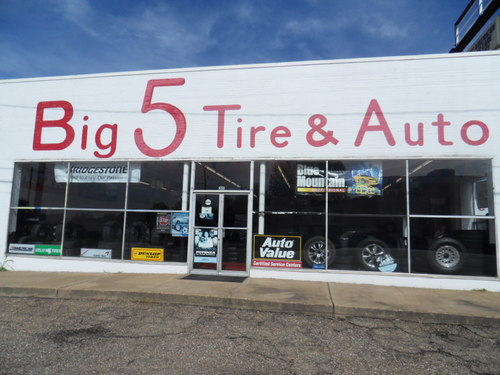 BIG 5 TIRE CENTER storefront. Your local ABC Auto Parts, Ltd. in Longview, TX.