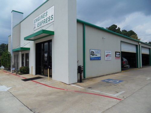 ENGINES EXPRESS storefront. Your local ABC Auto Parts, Ltd. in Tyler, TX.