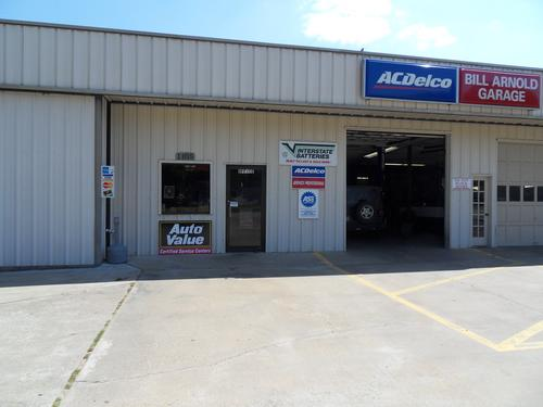 BILL ARNOLDS GARAGE storefront. Your local ABC Auto Parts, Ltd. in Carthage, TX.