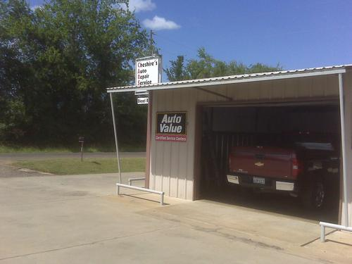CHESHIRE AUTO REPAIR storefront. Your local ABC Auto Parts, Ltd. in Carthage, TX.