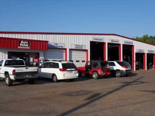 ALL STAR MUFFLER storefront. Your local ABC Auto Parts, Ltd. in Longview, TX.