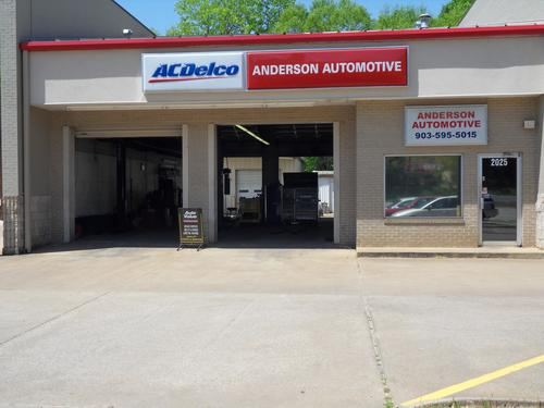 ANDERSON AUTOMOTIVE storefront. Your local ABC Auto Parts, Ltd. in Tyler, TX.