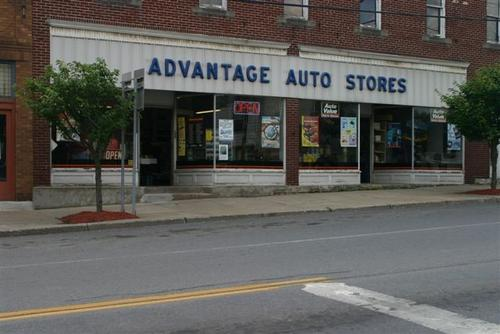 Advantage Auto Stores storefront. Your local Hahn Automotive Warehouse in Port Byron, NY.