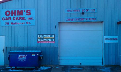 Ohms Car Care Inc storefront - Your local Auto Parts store in Elgin, ILLINOIS (IL)