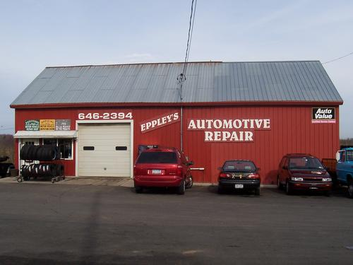 Eppley's Automotive storefront. Your local Hahn Automotive Warehouse in Sackets Harbor, NY.