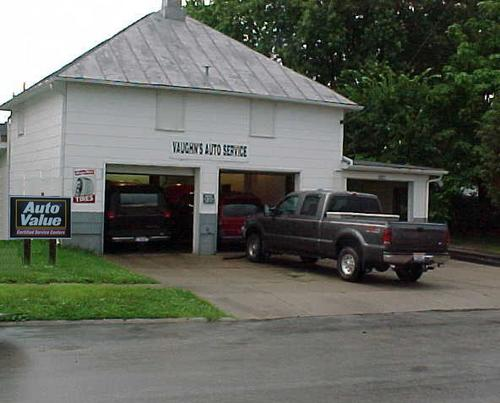 Vaughn's Auto Service storefront. Your local Hahn Automotive Warehouse in Wilmington, OH.
