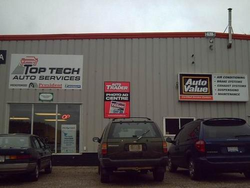 Top Tech Auto Services storefront. Your local Maslack Supply Limited in Elliot Lake, .