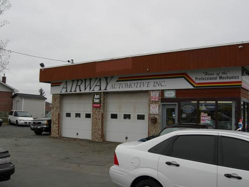 Airway Automotive Services storefront. Your local Maslack Supply Limited in Garson, .