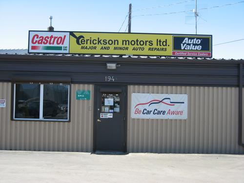 Erickson Motors Ltd. storefront. Your local Piston Ring Service Supply in Winnipeg, .
