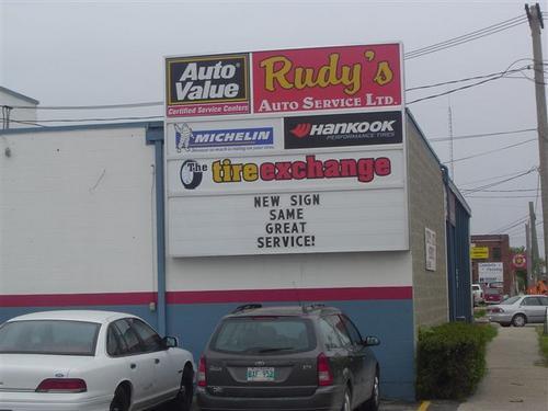 Rudy's Auto Service Ltd