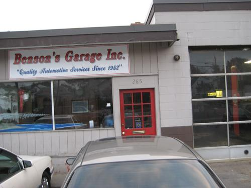 Benson's Garage
