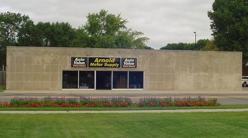 Arnold Motor Supply storefront. Your local The Merrill Co. in Marshall, MN.