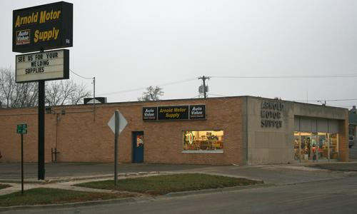 Arnold Motor Supply storefront. Your local The Merrill Co. in Sheldon, IA.