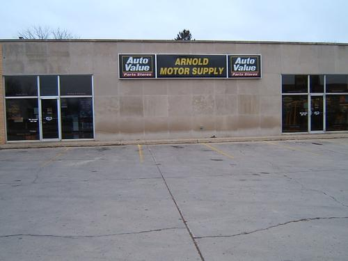 Arnold Motor Supply storefront. Your local The Merrill Co. in Fairmont, MN.