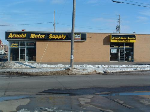 Arnold Motor Supply storefront. Your local The Merrill Co. in Oskaloosa, IA.