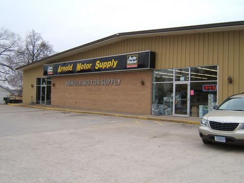 Arnold Motor Supply storefront. Your local The Merrill Co. in Fairfield, IA.