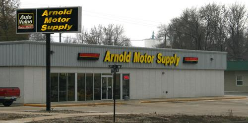 Arnold Motor Supply storefront. Your local The Merrill Co. in Le Mars, IA.