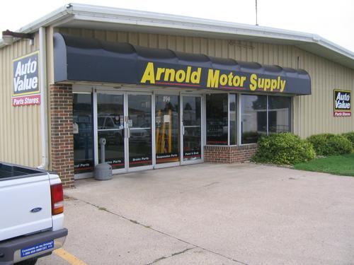 Arnold Motor Supply storefront. Your local The Merrill Co. in Sioux Center, IA.