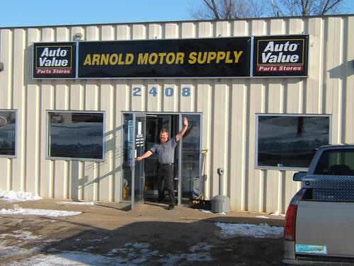 Arnold Motor Supply storefront. Your local The Merrill Co. in Cedar Falls, IA.
