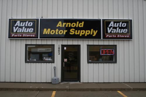 Arnold Motor Supply storefront. Your local The Merrill Co. in Sioux City, IA.