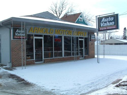 Arnold Motor Supply storefront. Your local The Merrill Co. in Clarion, IA.