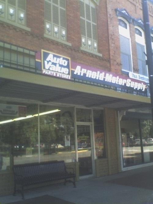 Arnold Motor Supply storefront. Your local The Merrill Co. in Pella, IA.