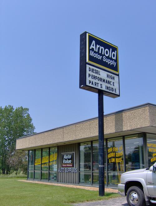 Arnold Motor Supply storefront. Your local The Merrill Co. in Marion, IA.
