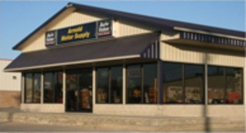 Arnold Motor Supply storefront. Your local The Merrill Co. in Wilton, IA.