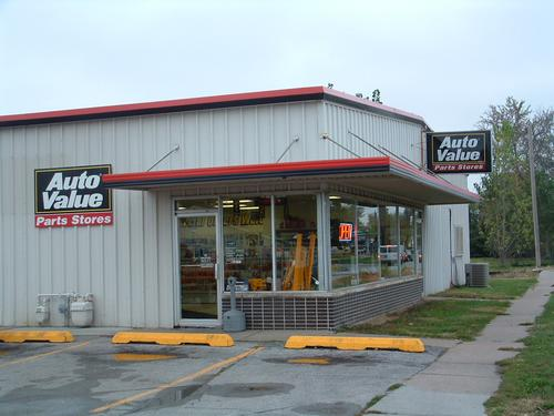 Auto Value Parts Stores storefront. Your local The Merrill Co. in Council Bluffs, IA.