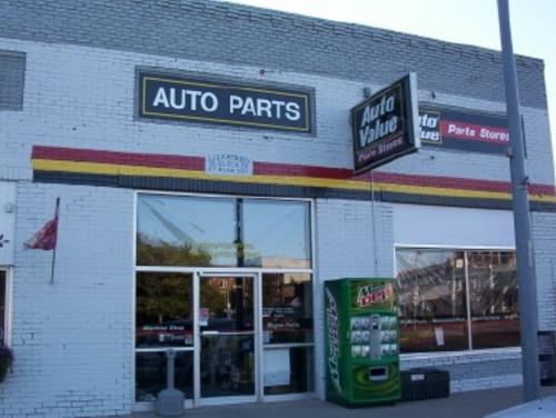 Auto Value Parts Stores storefront. Your local The Merrill Co. in Geneva, NE.